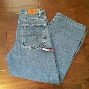 Vintage Tommy Hilfiger Logo  Carpenter Jeans